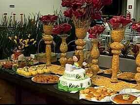 Festival elege melhor prato à base de milho em Patos de Minas - Ensopadinho de milho foi o prato campeão desse ano na Fenamilho. Evento contou com quase 500 receitas de alimentos doces e salgados.