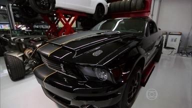 Conheça os segredos da preparação de motores - Mostramos como apimentar um Mustang Shelby, um Corcette e um Camaro para competições de velocidade.