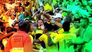 Seleção Brasileira pede apoio da torcida - Na próxima quinta-feira (12), o Itaquerão vai ser palco da abertura da Copa do Mundo 2014 e da primeira partida da nossa seleção. Os jogadores pedem o apoio dos brasileiros na luta pelo hexacampeonato.
