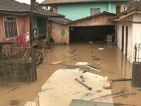24 municípios do estado são afetados pelas chuvas - 24 municípios do estado são afetados pelas chuvas