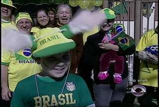 Santa Maria (RS) se prepara para a Copa do Mundo - A cidade já começa a ganhar as cores da seleção.