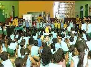 Confira como as crianças de Palmas estão se preparando para torcer pela selação brasileira - Confira como as crianças de Palmas estão se preparando para torcer pela selação brasileira