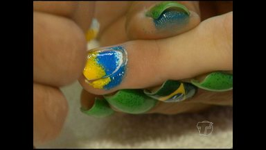 Copa do Mundo influencia a moda - Salões de beleza e empresas trabalham com confecções.
