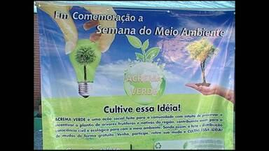 Distribuição de plantas frutíferas encerra Semana do Meio Ambiente em Monte Alegre - Ação trabalhou conscientização social.