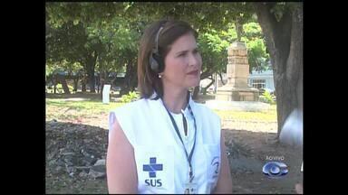 Vigilância Sanitária reforça fiscalização nos principais pontos de venda de arraiais - A fiscal da inspeção de alimentos da Vigilância Sanitária, Lara Campelo, fala sobre o assunto.