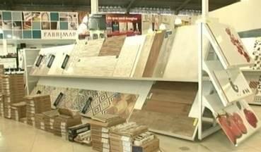 Setor da Construção Civil apresenta aumento no Sul do ES - Pesquisa nacional revelou que as vendas cresceram 5% no último mês. Em Cachoeiro de Itapemirim, teve loja registrou aumento de mais de 20%.