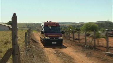 Homem cai em cisterna e fica ferido na zona rural de Pouso Alegre, MG - Homem cai em cisterna e fica ferido na zona rural de Pouso Alegre, MG