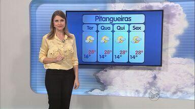 Confira a previsão do tempo na região de Ribeirão Preto - O tempo continua seco na região e as temperaturas devem subir durante a tarde