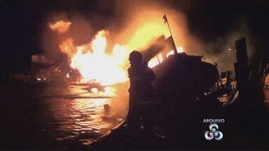 Morre mais um vítima de explosão de barco em Itacoatiara, no AM - Acidente aconteceu na noite desta sexta-feira (6) em porto da cidade; Comandante do barco morreu na hora e outros dois seguem internados.