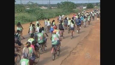 Em Guajará-Mirim, cinco mil pessoas participam de um evento esportivo - O evento nomeado de Bike Trilha aconteceu no fim se semana.