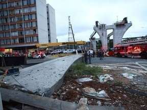 Piauiense morre em acidente na obra do monotrilho em SP - Piauiense morre em acidente na obra do monotrilho em SP