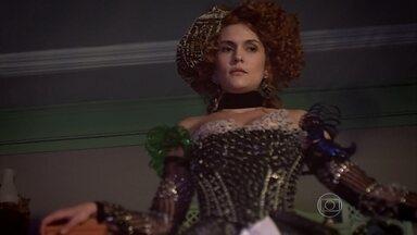 Beleza de Gina impressiona Ferdinando - Zelão diz que Tenório se curou rápido da mordida de cobra