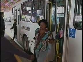 Ônibus voltam a circular em Criciúma - Ônibus voltam a circular em Criciúma