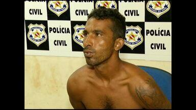 Acusado de roubo e estupro é preso - As vítimas do crime ocorrido na segunda-feira (9) reconheceram o suspeito.