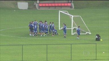 Seleção da Argentina treina sem público em Belo Horizonte - Em Vespasiano, a seleção da Argentina teve o primeiro dia de treino. Na quarta-feira (11), a equipe vai fazer um treino aberto antes da estreia na Copa.