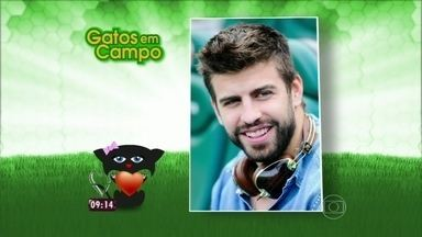 Ana Maria mostra enquete do site com os gatos da Copa - Preta Gil palpita e fala sobre seus favoritos