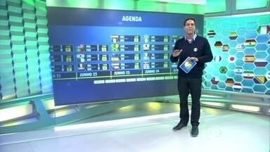 Pela Central da Copa, Lacombe traz novas informações da competição - Repórteres espalhados pelo país contam novidades sobre os jogos dessa rodada