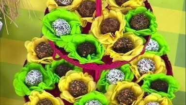 Nutricionista dá dicas de receitas de petiscos saudáveis - A primeira ideia são docinhos crus, com base de banana passa. O creme de abacate com limão também é uma opção de petisco doce.