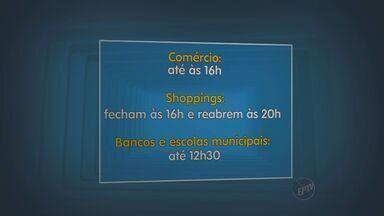 Serviços e comércio tem horário diferenciado nesta segunda devido ao jogo do Brasil - Nesta segunda-feira (23) a seleção do Brasil vai jogar contra Camarões e o horário do comércio e de alguns serviços à população serão alterados devido à partida.