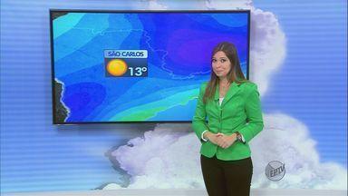 Confira a previsão do tempo para esta segunda-feira (23) na região de São Carlos - Confira a previsão do tempo para esta segunda-feira (23) na região de São Carlos