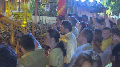 PSB oficializa Camilo Capiberibe à reeleição - Eleições 2014. O PSB saiu na frente ao realizar a primeira convenção do ano. O governador Camilo Capiberibe tentará o segundo mandato, mas o arco de alianças com outros partidos ainda não foi fechado.
