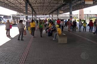 Jogo do Brasil movimenta terminais de ônibus em Mogi - Os moradores saíram mais cedo do trabalho para assistir ao jogo da seleção.