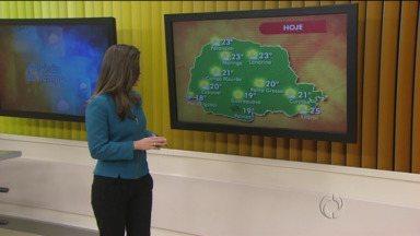Depois de temperatura negativa o frio diminuiu no estado - Confira os detalhes da previsão pra sua região.