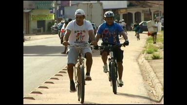 Ciclistas reclamam de falta de ciclovias em Santarém - Em Santarém existem apenas duas avenidas com espaço para que os ciclistas trafeguem.
