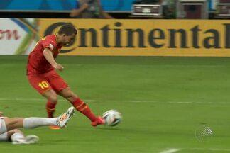 Bélgica x EUA mantêm a tradição de grandes jogos na Arena Fonte Nva - Confira a análise do jogo.