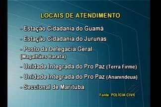 Polícia Civil restabelece serviço de agendamento para emissão de carteira de identidade - Serviço estava suspenso e voltou a ser oferecido pela internet.