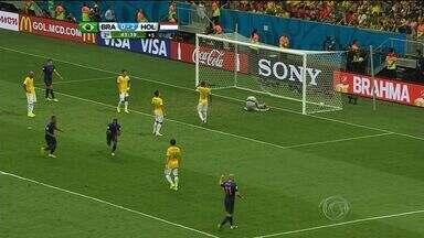 Brasil leva três gols da Holanda e termina o Mundial em 4º lugar - Holanda vence o Brasil por 3 a 0 e garante o terceiro lugar.