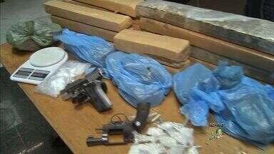 Delegacia de narcóticos divulga balanço de operações realizadas na última semana - Foram apreendidos 48kg de maconha.