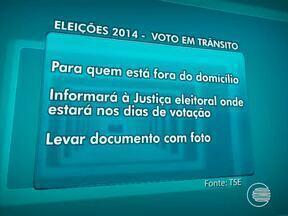 Começa cadastramento para voto em trânsito nas eleições - Começa cadastramento para voto em trânsito nas eleições