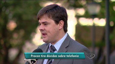 Diretor jurídico do Procon-ES tira dúvidas sobre novas regras de telefonia - Telespectadores puderam fazer perguntas a especialista.