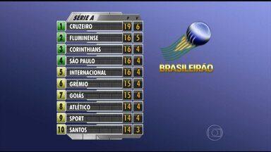Veja classificação da Série A do Campeonato Brasileiro - O Cruzeiro é o líder. Por último, está o Figueirense.