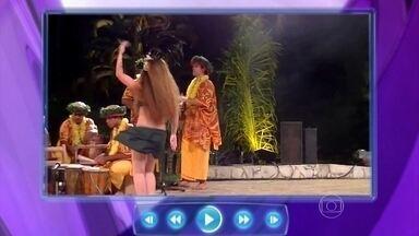 Rainha do bumbum! Bailarina do Taiti tem 'motor' no quadril - Rainha do bumbum! Bailarina do Taiti tem 'motor' no quadril