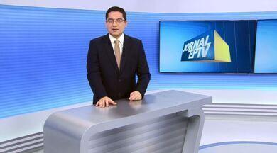 Chamada do Jornal da EPTV primeira edição - 15/07 - Jornal da EPTV destaca prisão do irmão do sequestrador Andinho por tráfico de drogas.