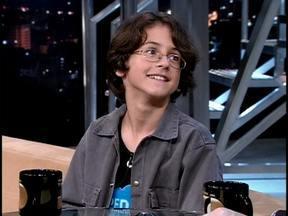 Ator-mirim David Lucas fala de sua carreira - Ele faz o filho de Luís Fernando Guimarães em 'Minha Nada Mole Vida'.