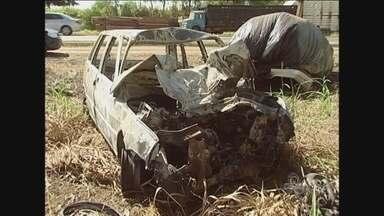 Em Presidente Médici, dois homens morrem após acidente - O acidente aconteceu a quatro quilômetros da cidade.