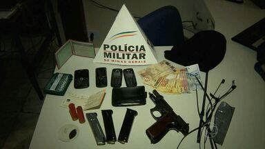 Família é feita refém durante assalto a joalheria no Sul de Minas - Mas uma das vítimas conseguiu escapar e pedir ajuda.