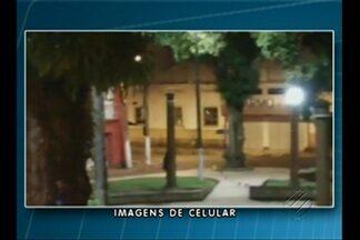 A criminalidade tem assustado os moradores do bairro da Cidade Velha, em Belém - Os bandidos têm roubado até a luminária dos postes para facilitar os assaltos durante a noite.