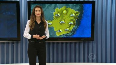 Frente fria traz umidade para Minas Gerais - Há previsão de chuva a partir desta quarta-feira (24).