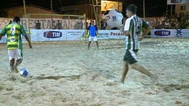 Termina a fase classificatória do Campeonato Maranhense de futebol de areia - Tutóia, Morros e Humberto de Campos garantiram a classificação para as quartas de final