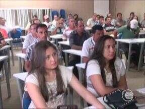 Agricultores estão sendo orientados sobre o Garantia Safra em Picos - Agricultores estão sendo orientados sobre o Garantia Safra em Picos