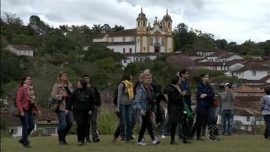 Blogueiros que escrevem para sites de turismo se encontram no Campo das Vertentes - Eles foram até a cidade histórica para conhecer o potencial turístico. A ideia dos organizadores do encontro é que eles divulguem os destinos visitados.