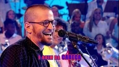 Saulo e Luiz Caldas cantam em homenagem a Dorival Caymmi - Cantores escolhem canção 'Samba da Minha Terra'