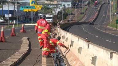 Desvios na 277 vão permitir construção de passarelas - Duas passarelas vão ser erguidas na área urbana de Medianeira.