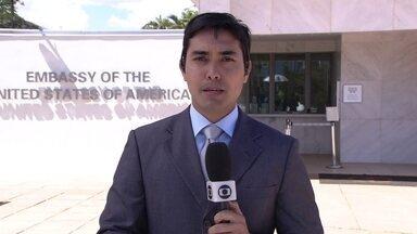 Problema técnico suspende parcialmente a emissão de vistos para os Estados Unidos - Um problema no sistema de impressão suspendeu a emissão dos vistos. O problema é mundial. Consulados de todo o Brasil estão reagendando as entrevistas desta sexta-feira (31) para o dia 13 de agosto.
