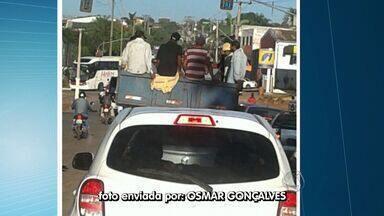 Internautas flagram infrações de trânsito em Cuiabá - Internautas flagram infrações de trânsito em Cuiabá.