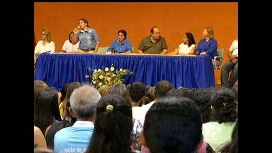 Novos agentes de saúde e de endemias são empossados em Santarém - Os aprovados são do Concurso da Prefeitura do ano de 2012.
